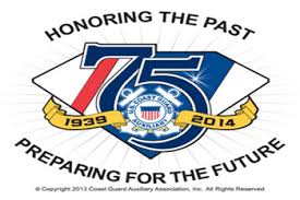 75th Anniversary Auxiliary Logo